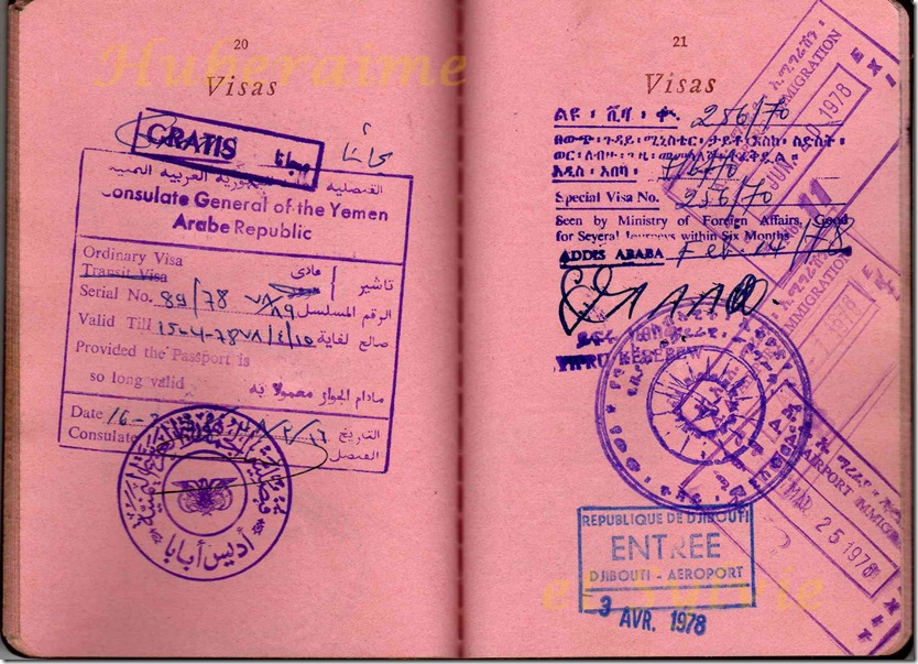 A12-HT Passeport 1978-
