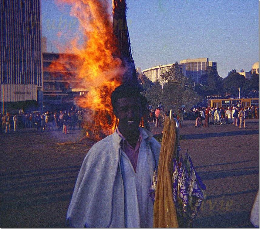 ht-Ethiopie Addis-Abeba Fête de Maskal 26.09.77-