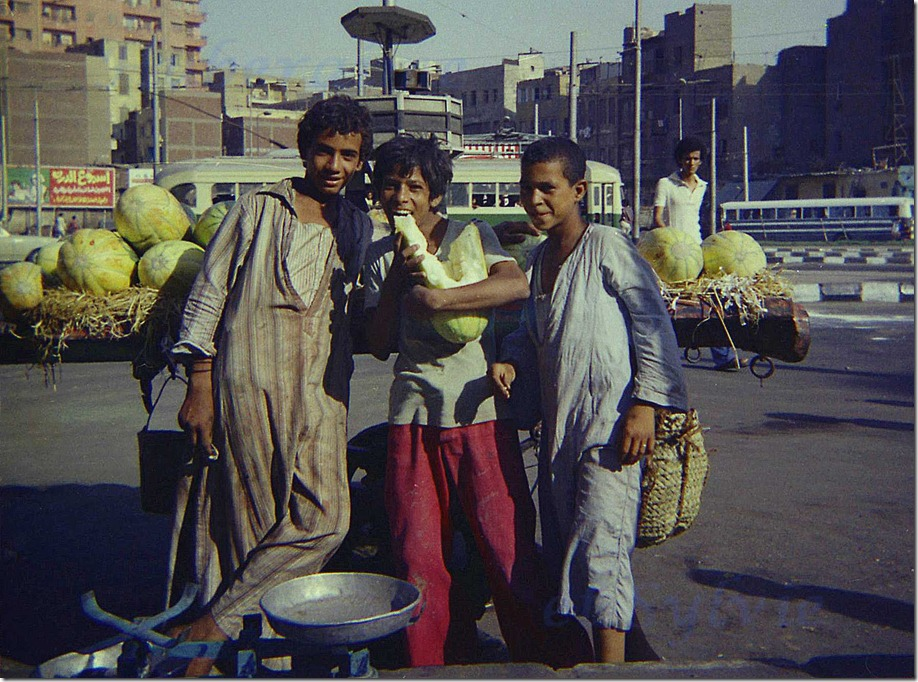 nj-Egypte Le Caire Place Al Geish 20.06.78-