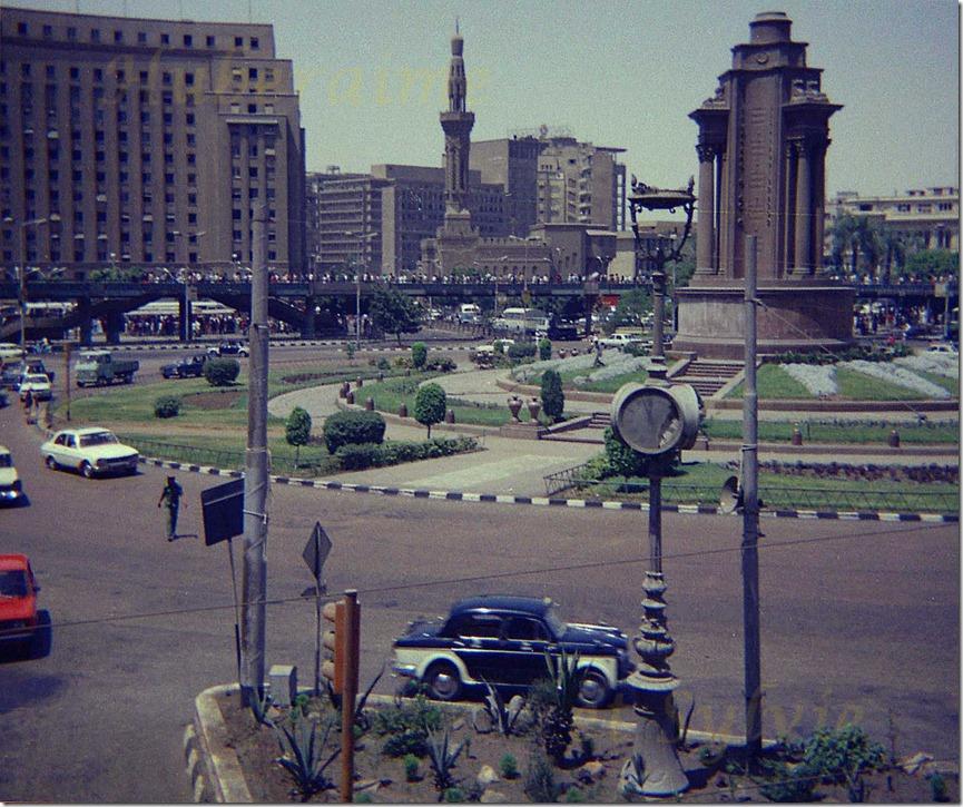 nk-Egypte Le Caire Place Tahrir 21.06.78-